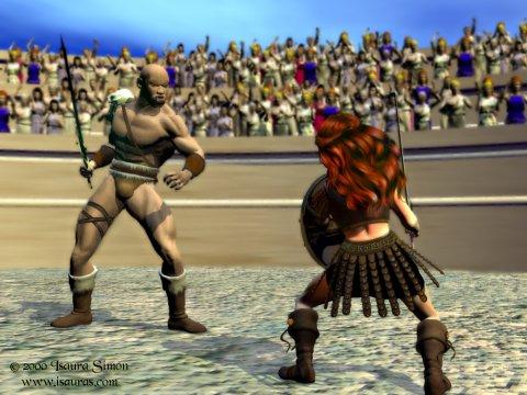 Amaltea dueling Umta