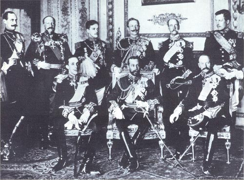 nine kings who attended Edward VII of England's funeral